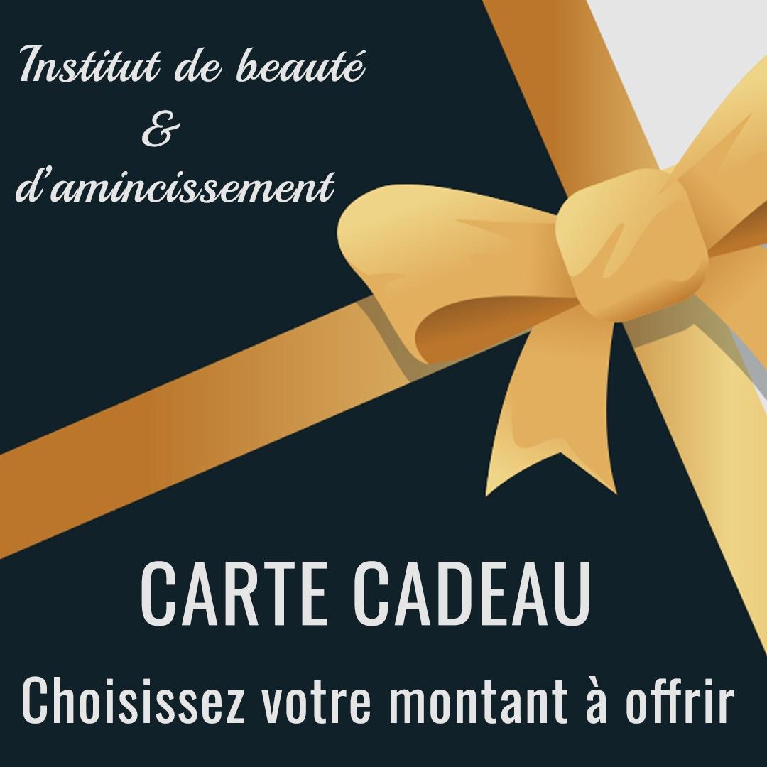 image carte cadeau institut de beauté aix les bains